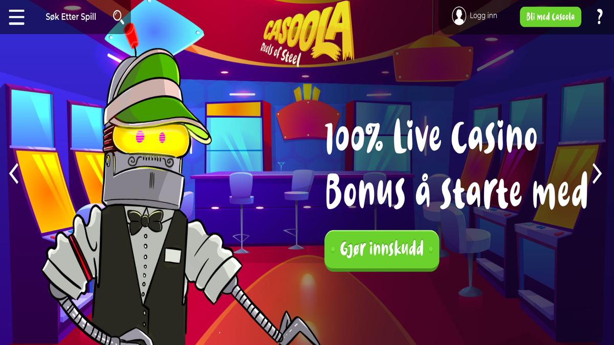 Test av Casoola Live Casino svindel