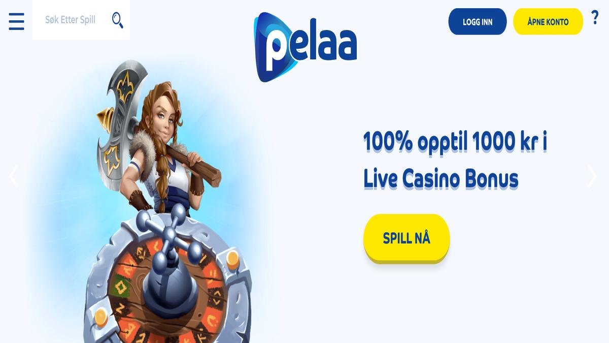 Test av Pelaa Live Casino juks